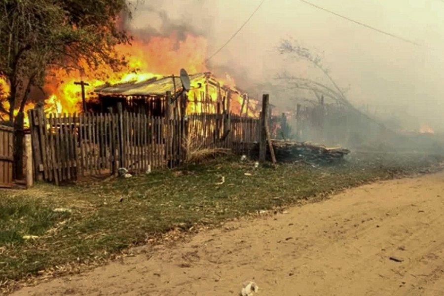 Estiman pérdidas millonarias por los incendios que afectaron la provincia