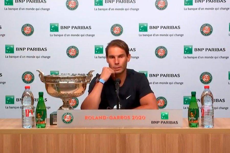 """Nadal: """"Ganar Roland Garros significa todo para mí"""""""