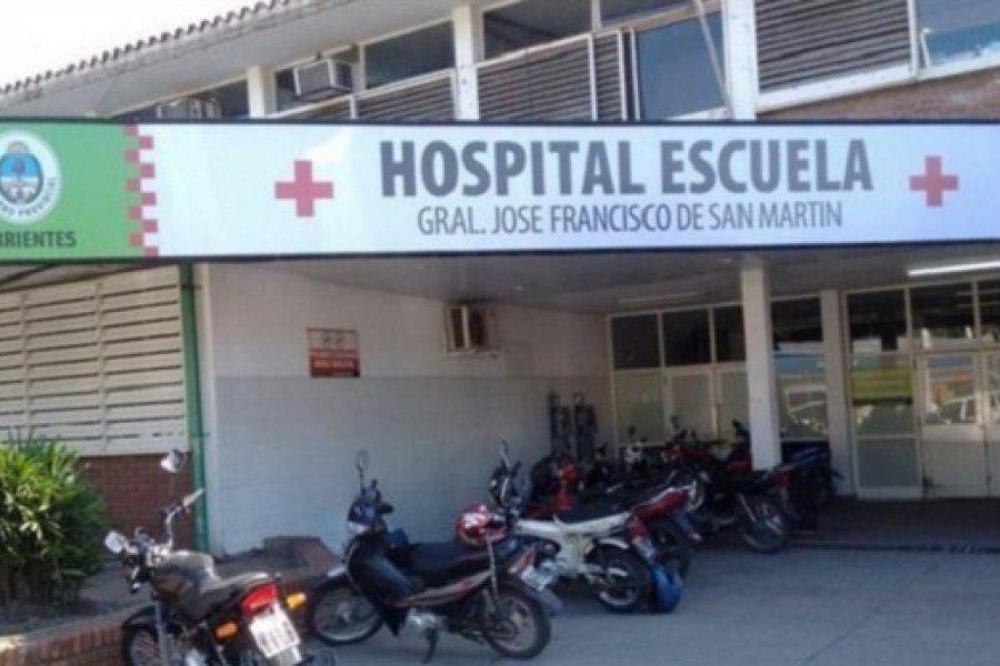 Murió un joven que estuvo internado grave luego de chocar dos motos en Bella Vista