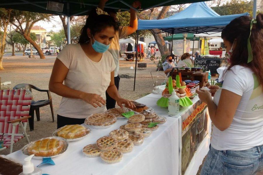 Los emprendedores llevaron sus productos a los barrios de Capital
