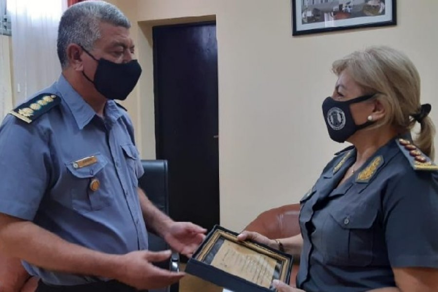 Visita protocolar: El Subjefe de Policía se reunió con autoridades del Servicio Penitenciario
