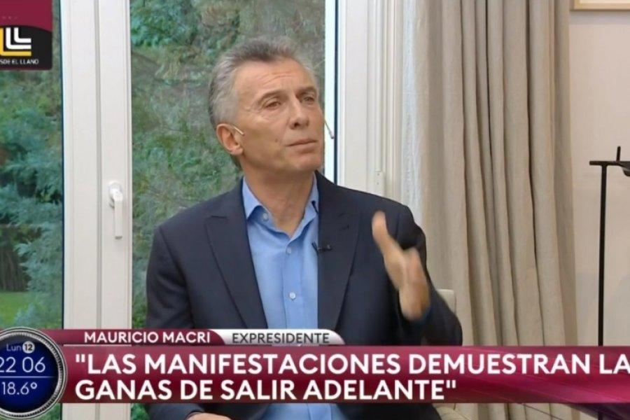Mauricio Macri criticó las medidas sanitarias para hacerle frente al coronavirus