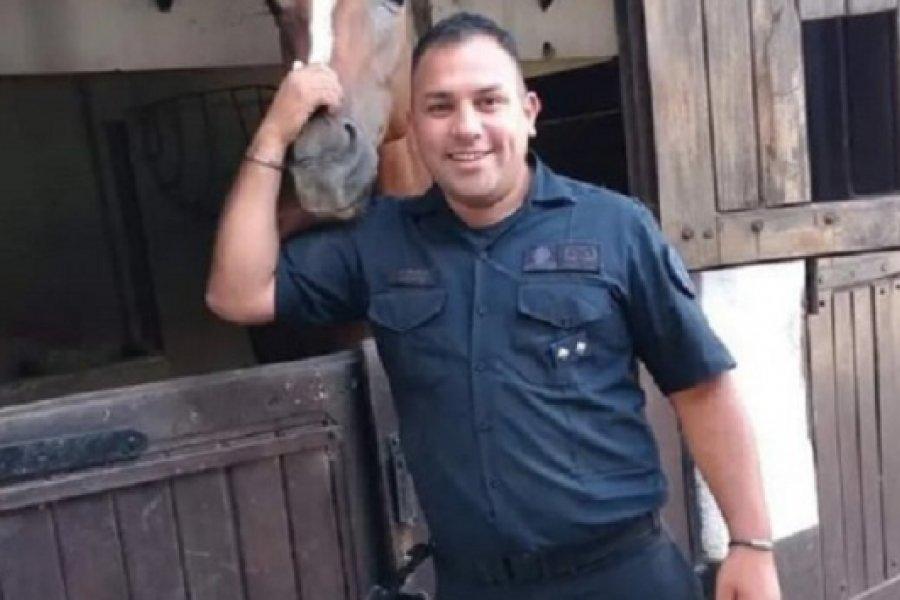 Ascendieron post mortem a Juan Pablo Roldán, el policía acuchillado frente al Malba