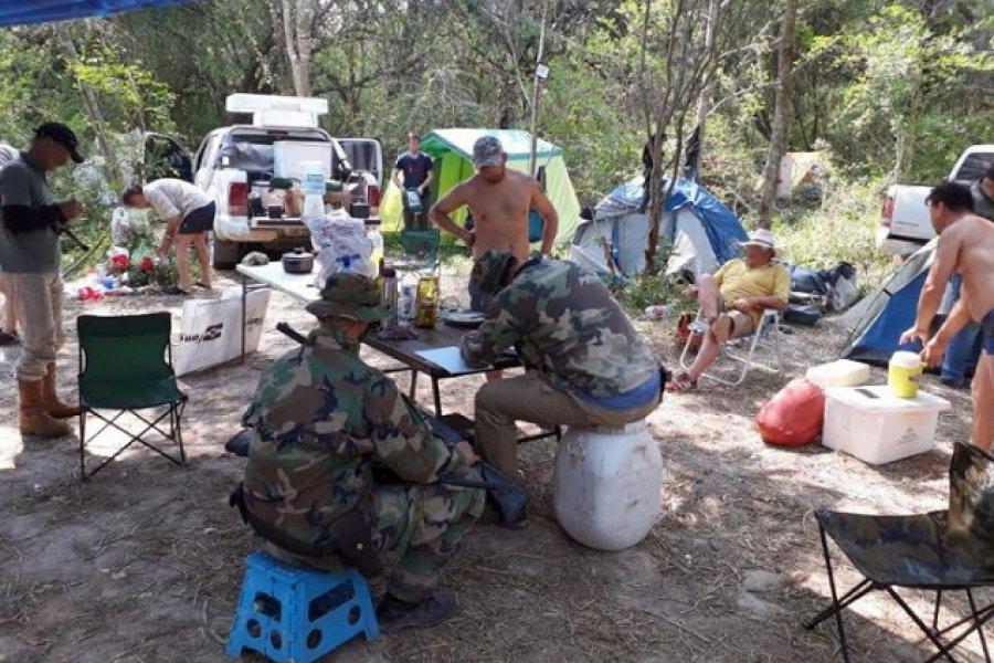 Parque Nacional El Impenetrable: Incautaron armas y embarcaciones en un operativo