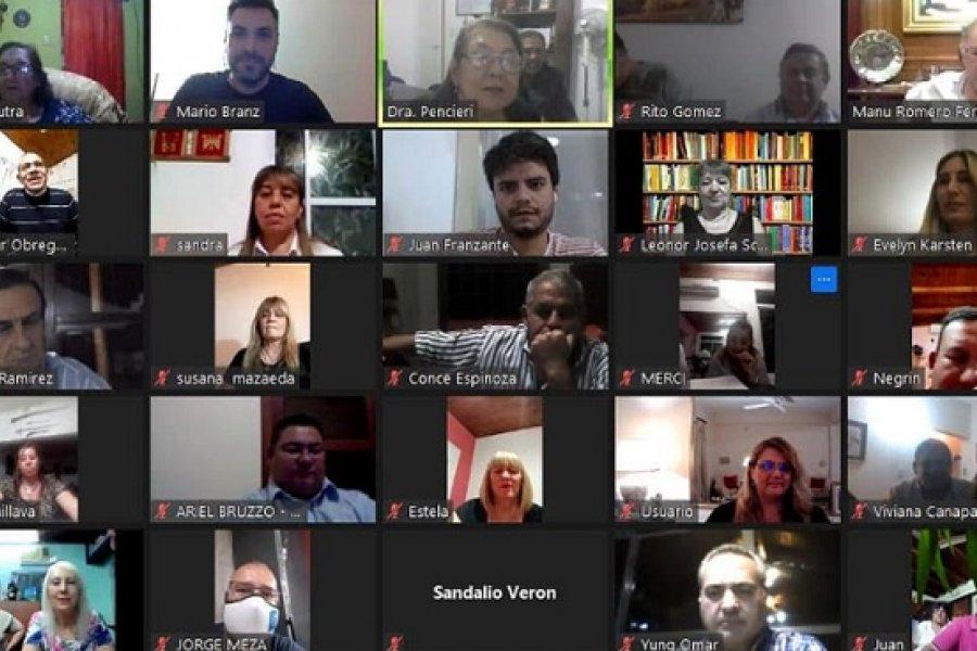 Reunión virtual de Junta del PaNu: Pidieron que el candidato sea Tato