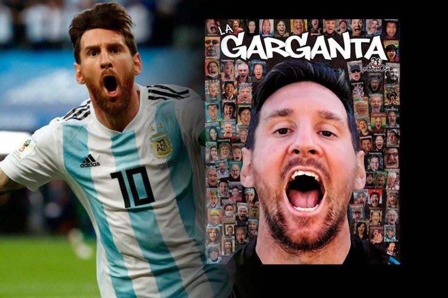 """Messi: """"Hoy me obsesiona menos el gol"""""""