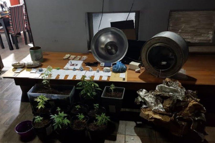 Allanamiento en Virasoro: Incautan marihuana y detienen a un sujeto