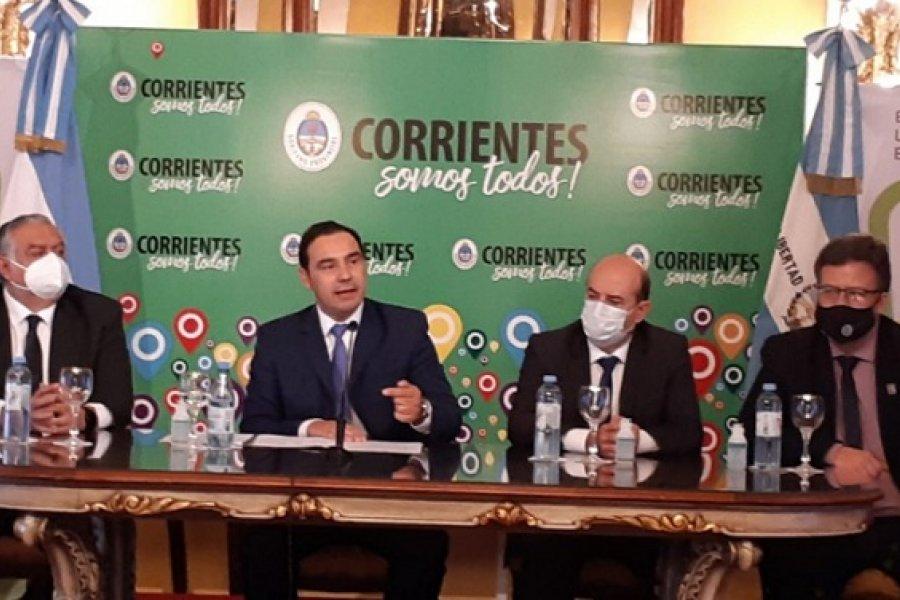 Corrientes: Valdés presentó el Plan Estratégico Participativo 2030