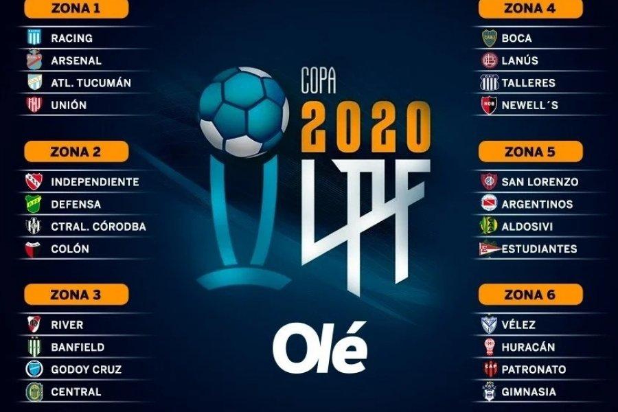 Vuelve el fútbol: así quedaron los grupos de la Liga Profesional