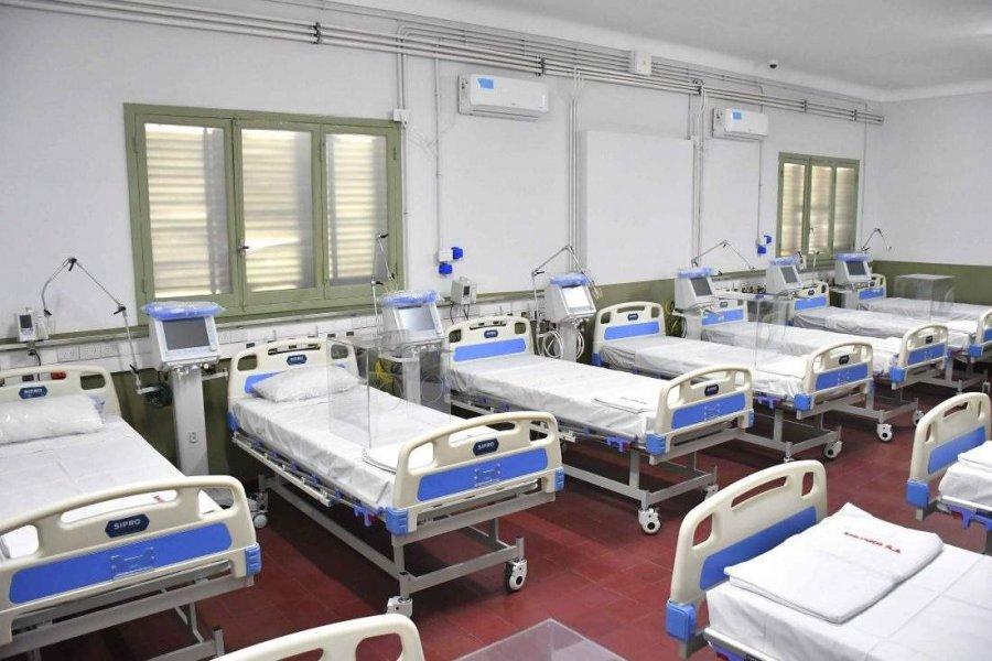 73 pacientes están internados en el Hospital de Campaña