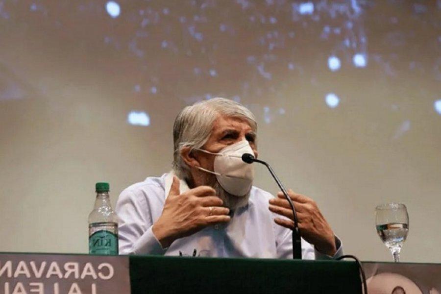 Hugo Moyano, sobre la caravana por el 17 de Octubre: Queremos demostrarle nuestro apoyo al Gobierno