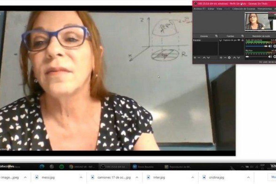 VIDEO- Echaron a un alumno de una clase virtual por no poder prender la cámara