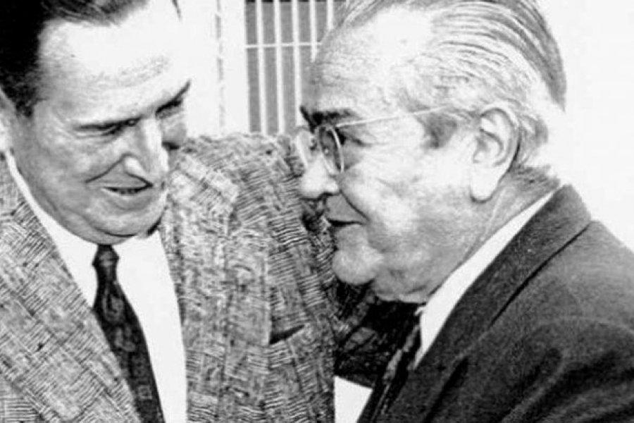 Es tiempo de estar unidos: el abrazo Perón - Balbín