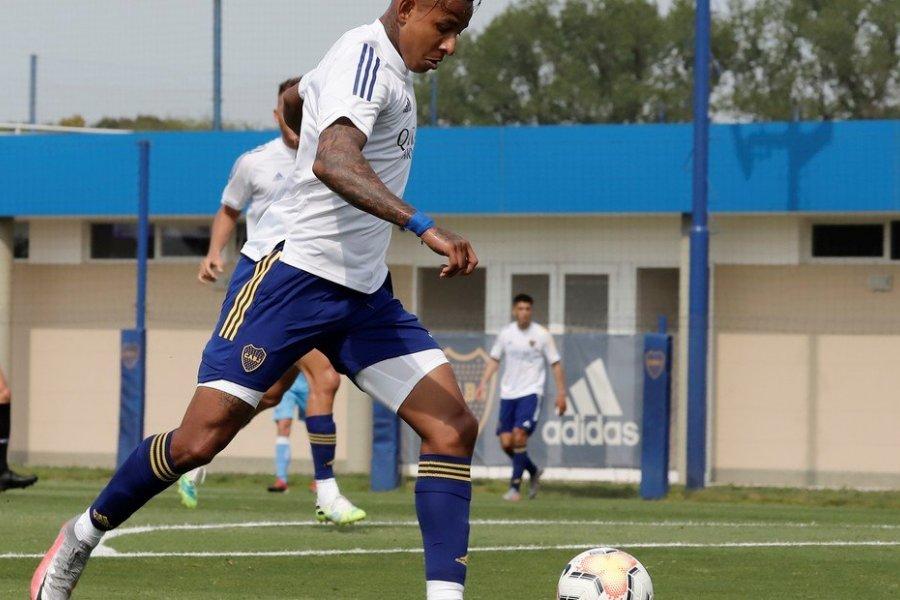 Sebastián Villa vuelve a jugar
