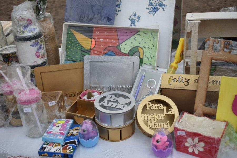 Emprendedores realizaron una exposición especial por el día de la madre