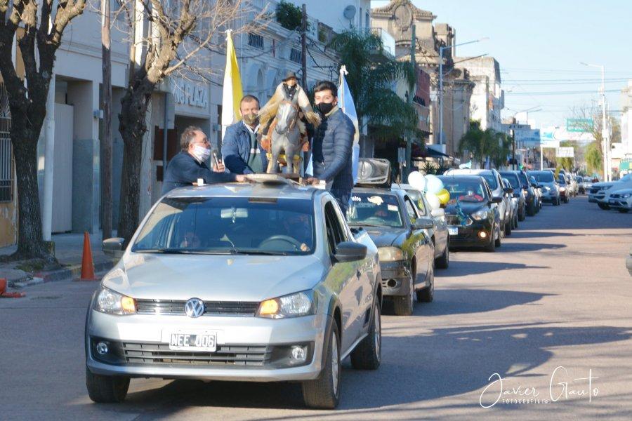 Se realizó la caravana Brocheriana por las calles de Goya