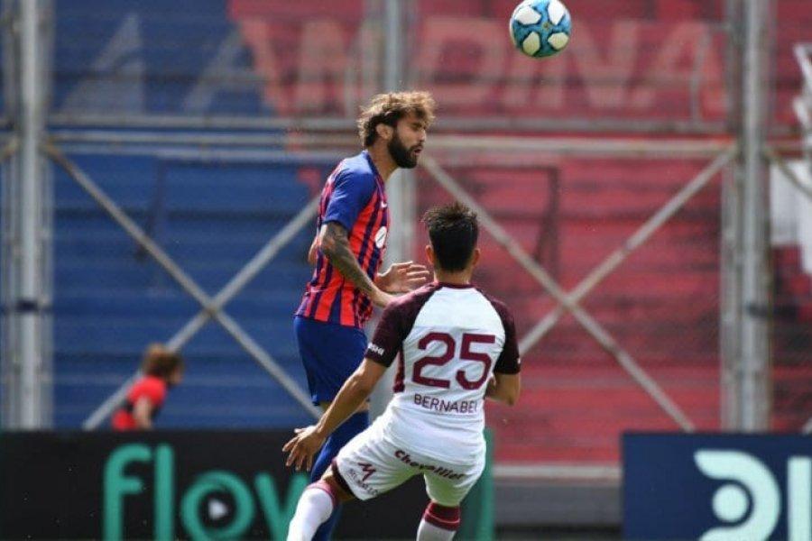 Mala noticia para San Lorenzo: Gino Peruzzi está desgarrado