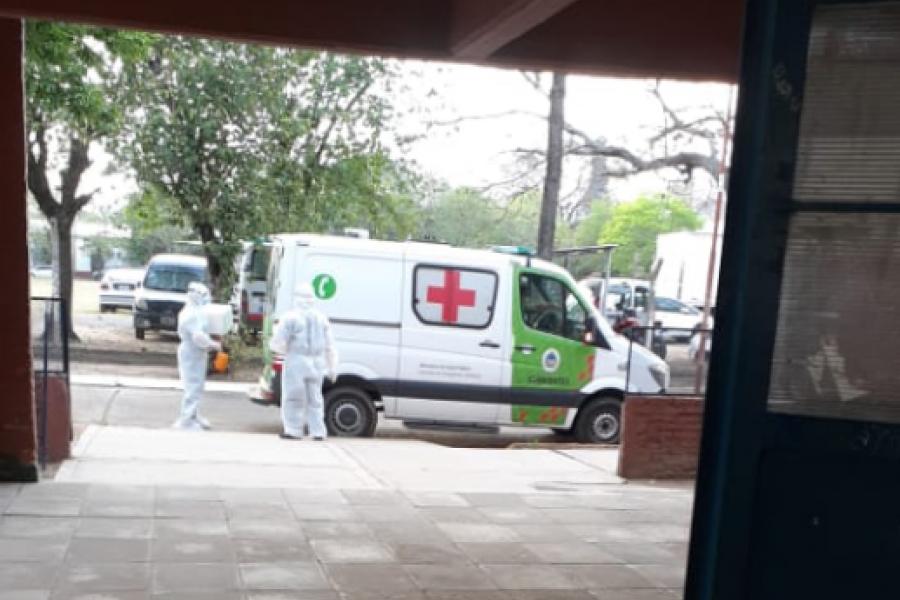 Corrientes: Aguardan resultados de la segunda tanda de hisopados en el colegio Ferré