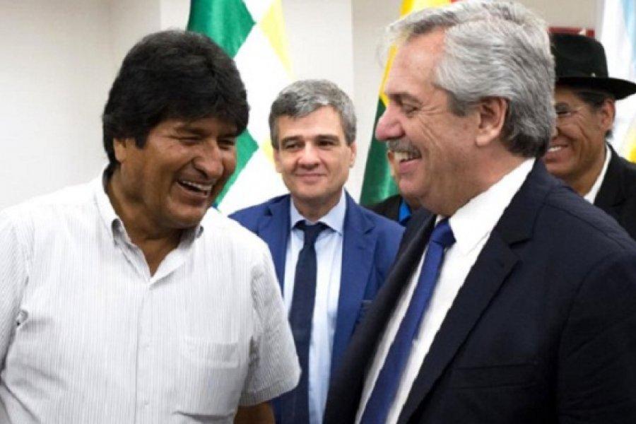 Alberto Fernández y Cristina Kirchner festejaron el triunfo del MAS en Bolivia