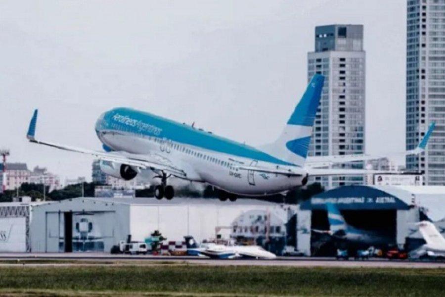 Aerolíneas vuelve a operar desde Corrientes