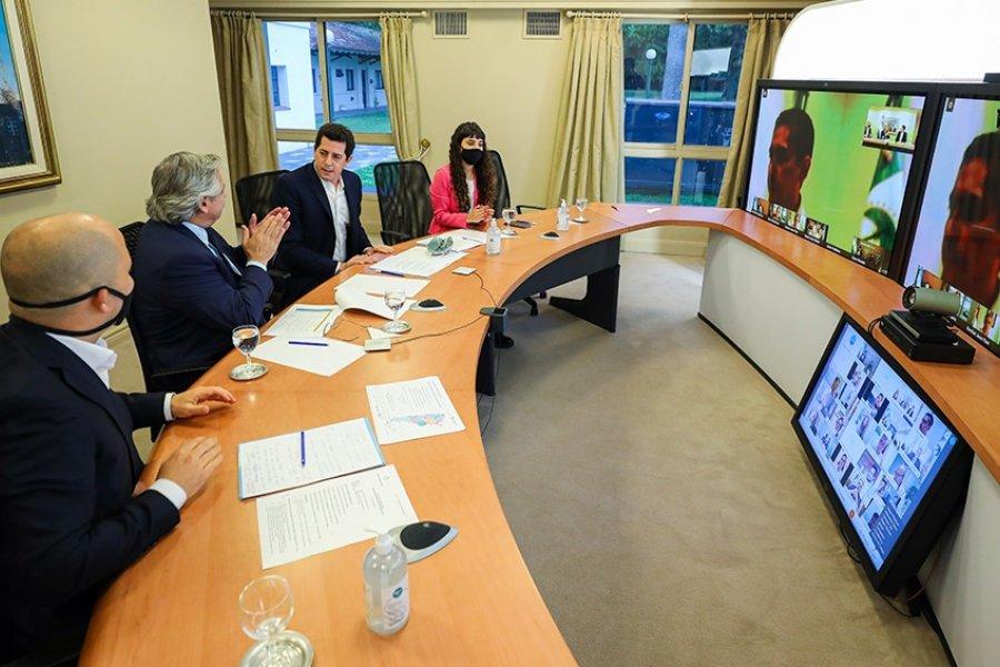 Fernández presentó un programa asistencial a municipios por 1.086 millones de pesos