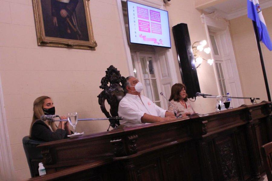 La Cámara de Diputados desarrolló una charla sobre detección temprana del Cáncer de Mama