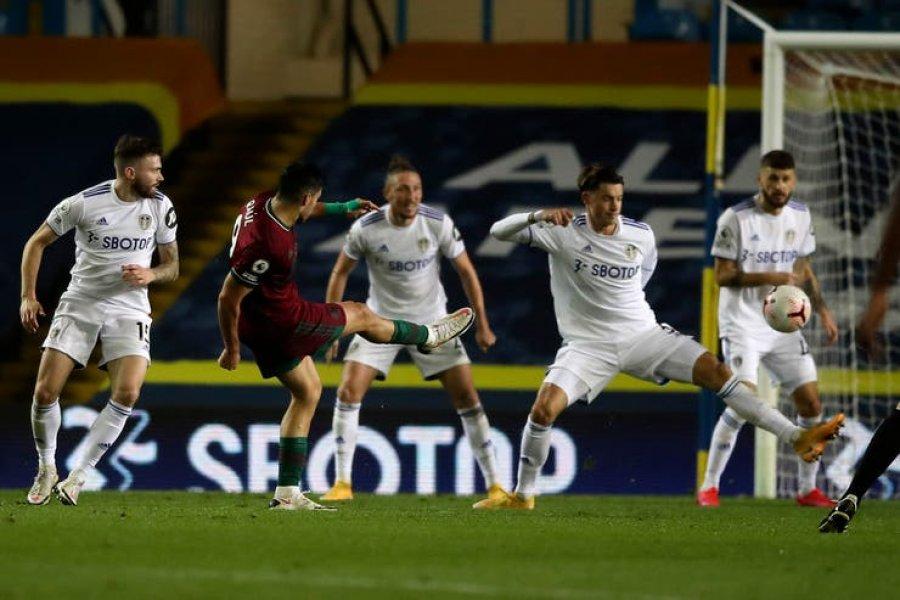 El Leeds de Bielsa jugó su peor partido y perdió con un gol en contra
