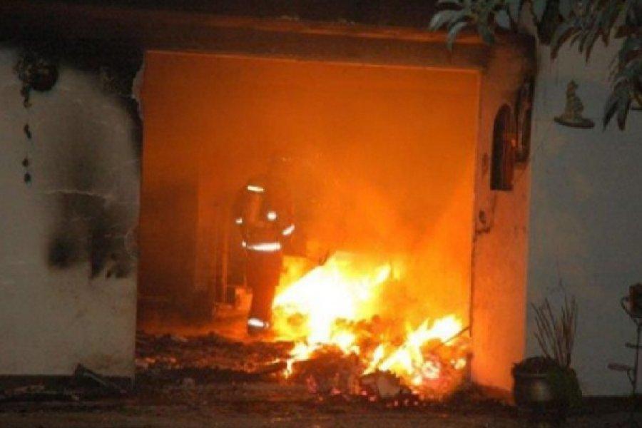 Tragedia en La Cruz: Hallaron a un anciano muerto tras el incendio de su vivienda