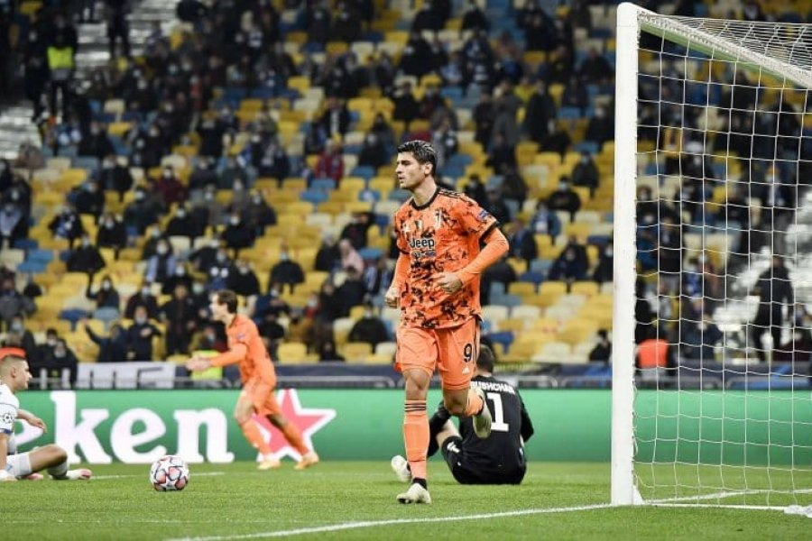 Juventus, con Dybala y sin Cristiano Ronaldo, le ganó a Dinamo Kiev