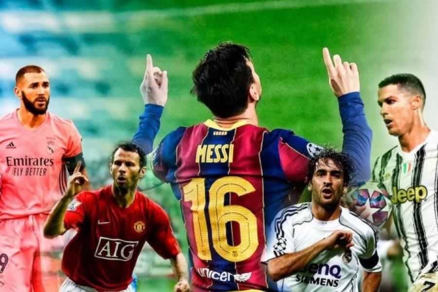 El nuevo récord de Messi en la Champions