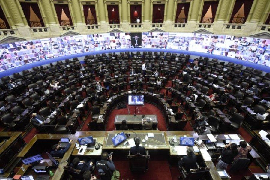 Nuevo acuerdo en Diputados para extender las sesiones mixtas por la pandemia