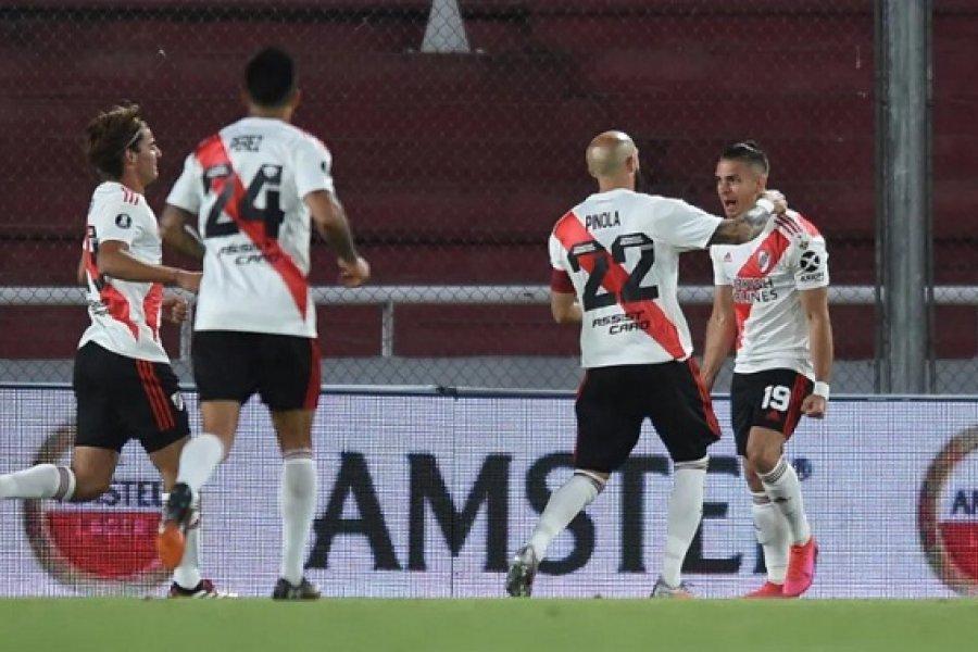 River goleó a Liga y avanza primero: No habrá Superclásico con Boca en octavos de final