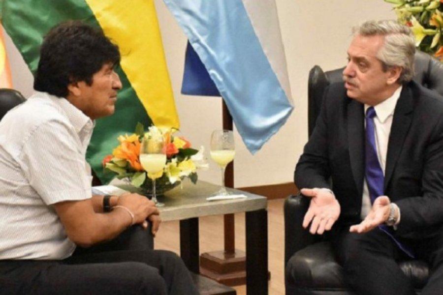 Alberto Fernández podría viajar con Evo Morales a la jura del Presidente de Bolivia