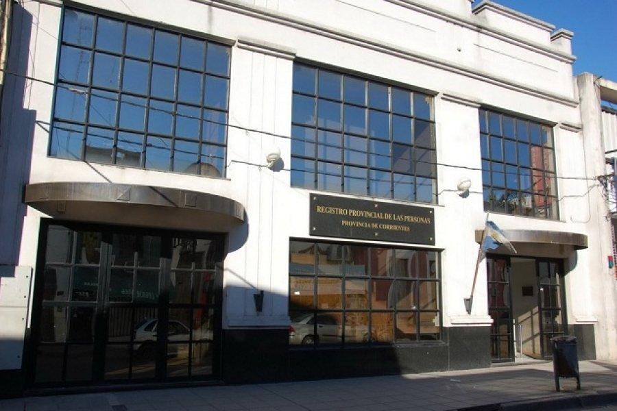 Ola de Covid-19 en Corrientes: Cerraron el Registro Civil