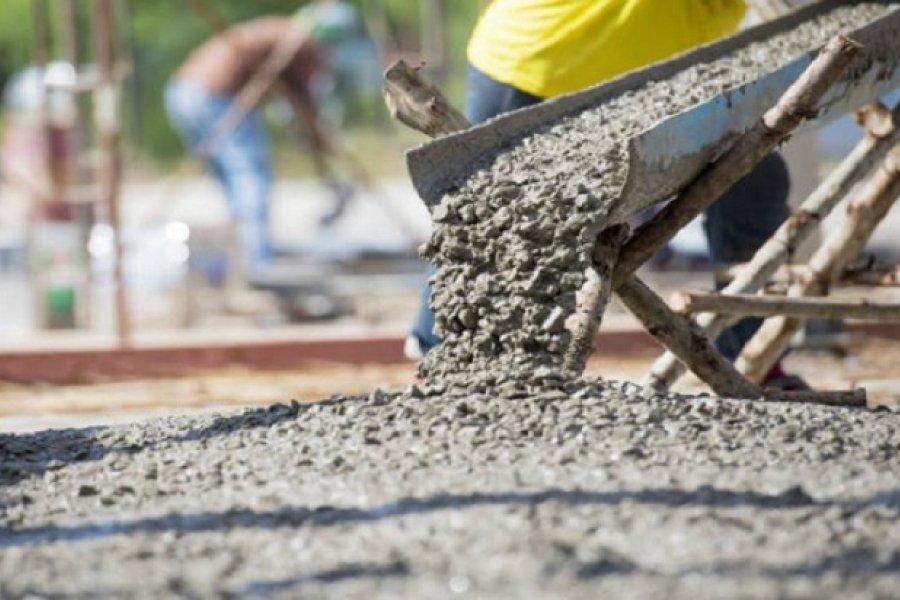 El consumo de cemento en Corrientes volvió a crecer: En septiembre el alza fue del 39,6%