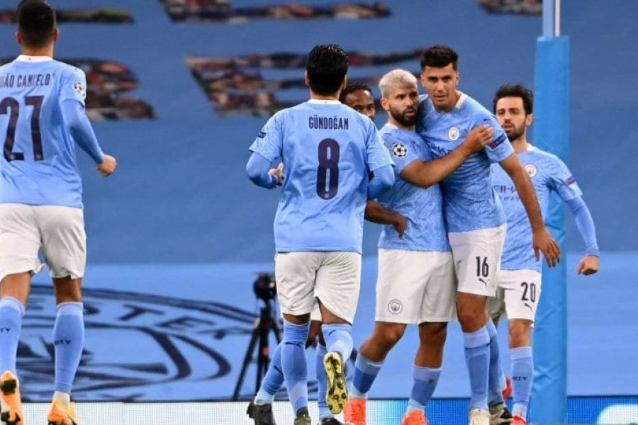 Agüero volvió al gol y City le ganó a Porto