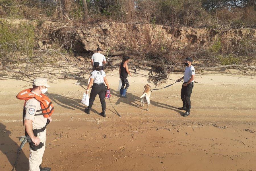 Sigue la búsqueda de los jóvenes desaparecidos en el Paraná