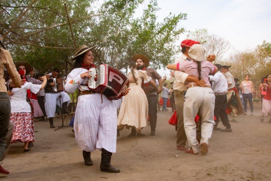 Encuentro chamamecero de Corrientes con los representantes de la UNESCO