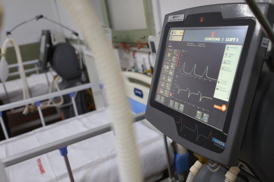 155 pacientes están internados en el Hospital de Campaña
