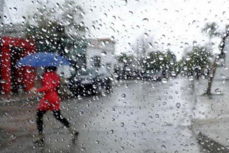Alerta por tormentas fuertes para varias localidades del interior
