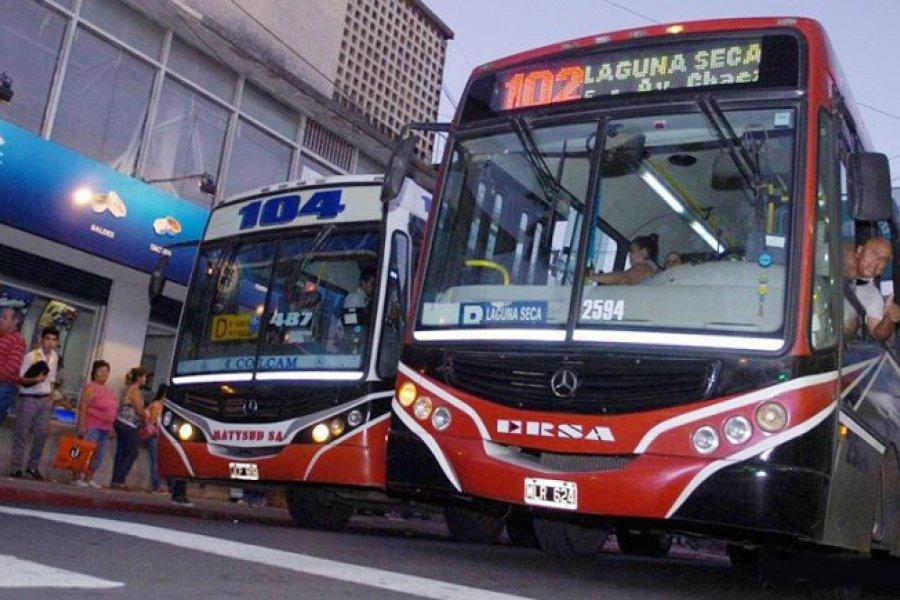 Habrá paro de trasporte urbano por 72 horas en Corrientes