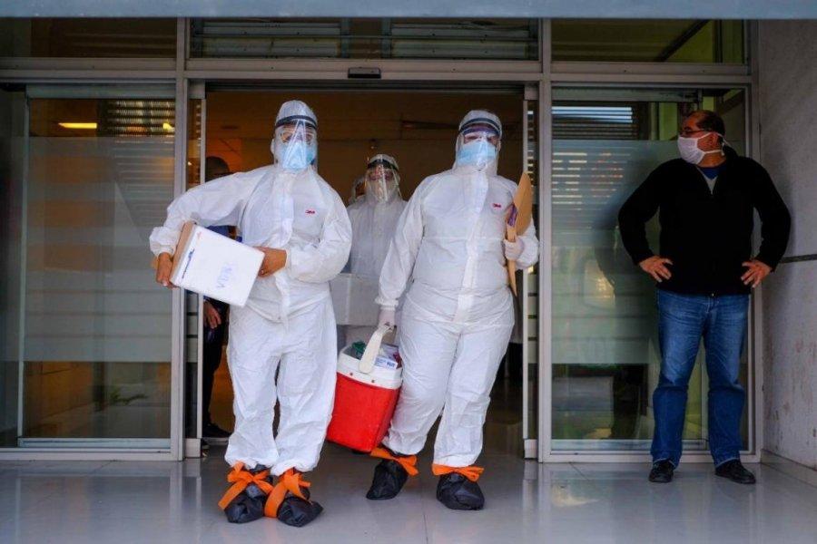 283 muertes y 8.593 nuevos casos de Coronavirus en Argentina