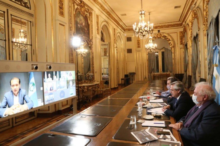 Alberto Fernández conversó con los gobernadores con más casos  y seguirán las restricciones