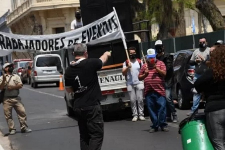 Trabajadores de eventos volverán a marchar