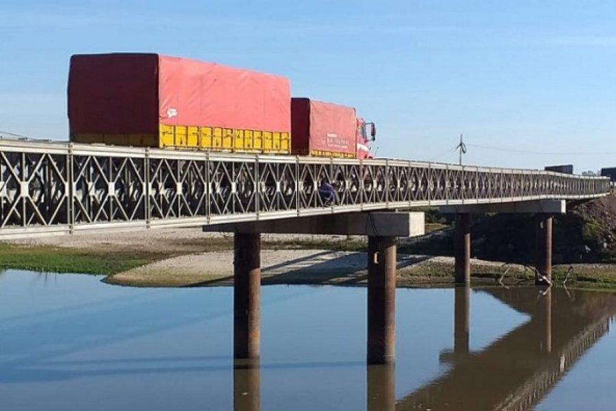 Tareas de mantenimiento: Circulación parcial por el puente del arroyo Guazú