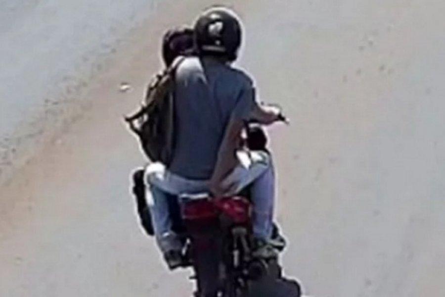 Denuncian ataque de motochorro cerca del ingreso al barrio Ponce