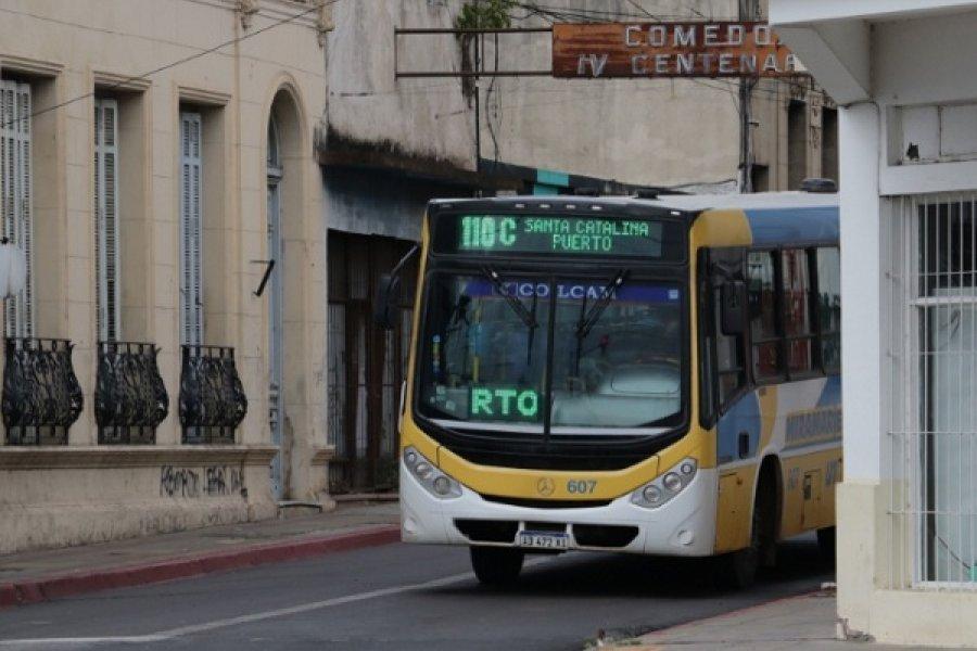 Conflicto del transporte: Solo circulan las líneas 101 y 110