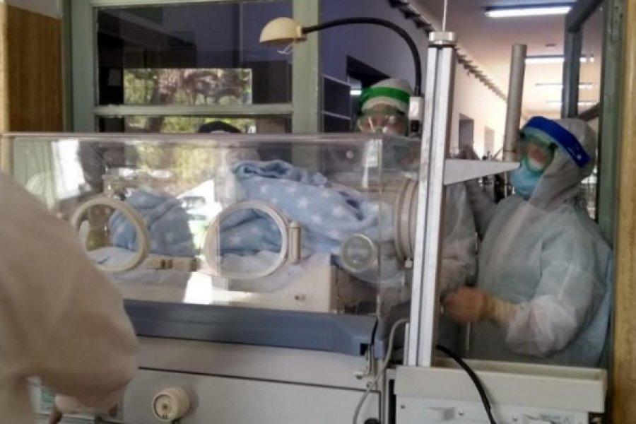 Se produjo el séptimo nacimiento en el Hospital de Campaña