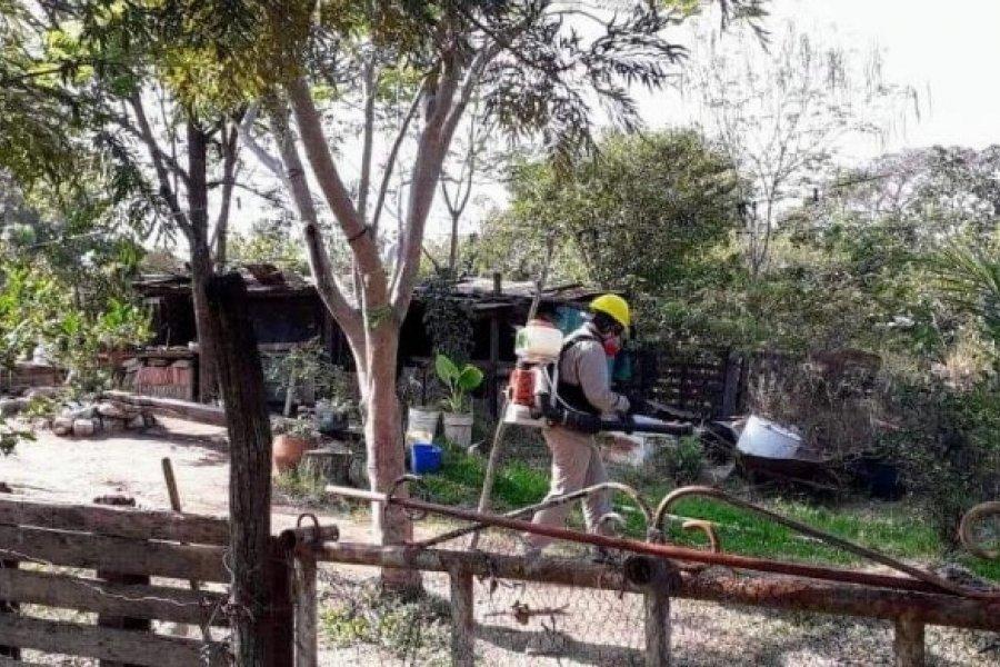 Dengue: Salud Pública realizó bloqueo vectorial en Capital