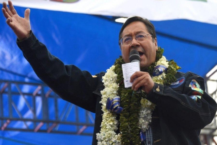 Terminó el escrutinio en Bolivia: Arce llegó al 55 por ciento de los votos